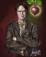 Dwight Schrute Completed by pimply1995