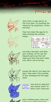 Tutorial for drawing, colouring and shading in Sai by Lightnymfa