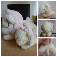 My Little Pony Sock Plush (+FREE TUTORIAL!) by judithchen