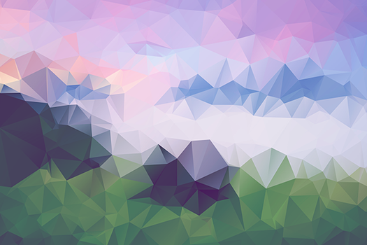 Free Polygonal / Low Poly Background Texture #1 by RoundedHexagon