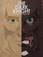 The Dark Knight - Two Face by M-Thirteen