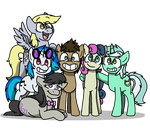 The (Inverted) Mane Six by Jaycee9325