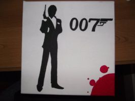 James Bond by AndyDaRoo
