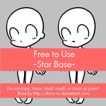 Free to Use Base {Star} by Koru-ru