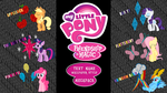 My Little Pony: FIM 'Text Name' Wallpaper Megapack by BlueDragonHans