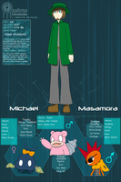 PDL: Michael Ref by HellStorm8000