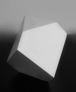 carton polyhedron from  Melancholy by Durer by creapicform