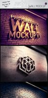 Photorealistic Wall Mock Up by mucahitgayiran