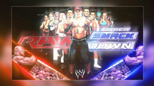 Raw and Smackdown! Wallpaper by cmpunkster