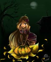 Flora Happy Halloween by fantazyme