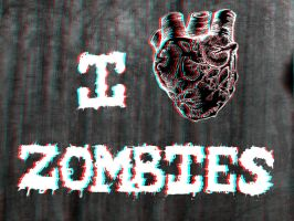 Zombie Love 3-D conversion by MVRamsey