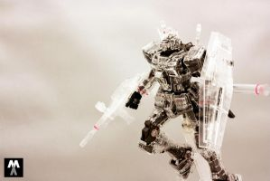 MG RX-78-2 ver 3.0 Mechanical Clear by deadlyzulwarn