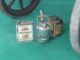 vintage oil container by two-ladies-stocks