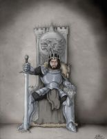 Ancient King in the North by Azraeuz
