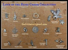 Lord of the Rings Charms EXTENSIVE Collection by maryfaithpeace