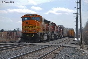BNSF Manifest at 71st St 0032 3-15-14 by eyepilot13