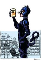 Catwoman shopping by Alvarossantos