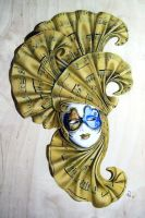 Carnival mask by gunman