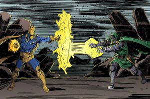 Dr.FATE vs Dr.DOOM by IttoOgamy