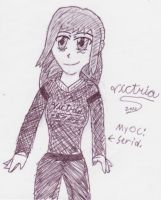 Seria on Patty paper XD by VictriaOfArgus