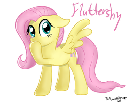 Fluttershy (1) by TheAljavis