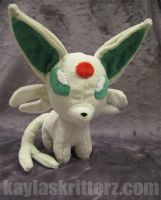 Chibi Shiny Espeon plush: SOLD by BlueWolfCheetah