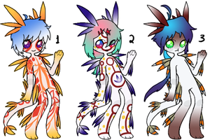 Nudibranch Adopt Auction [CLOSED] by Squidoptables