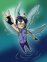 Vyrn the Dragonfly Boy by NEOmi-triX