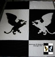 Gryphon Quilt by IchibanVictory