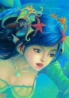 Mermaid crop by ninejear