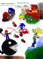 Sonic and Mario: New Allies by Cloba94