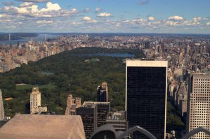 Top of the Rock - Central Park New York City by CursiveQ-Designs
