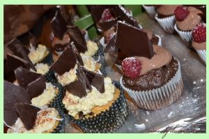 Chocolate And Peppermint Cupcakes gluten-free by vimandy