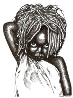 African Child by JustinMain