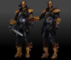 Deathstroke (Default) by Sticklove