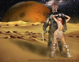 ... the beauty and the alien ... by Antiochia