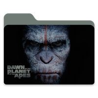 Down Of The Planet Of The Apes Folder by janosch500