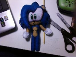 Sonica Plushie full body by SonicaSpeed