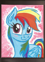 Rainbow Bashful by Pwnyville