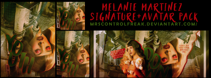 Melanie martinez look pack by mrsControlFreak