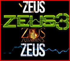 TextFX of 4 Famous Games by GFX-ZeuS