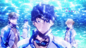 Free! Iwatobi Swim Club by somthinandnothin