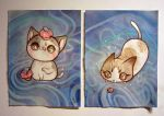 Kitten Commission by lindsaycampbell