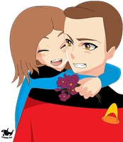 Me And Wesley Crusher by HeartSong-fim