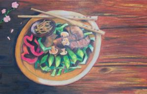 Ode to Chinese Cuisine by ellana
