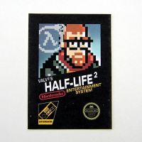 Half-Life 2 - 8-bit Box Art by arcade-art