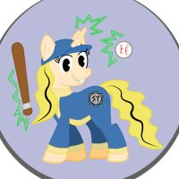 NEW PERK - My Little Slugger by aoshistark