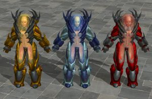'Unreal 2' Liandri Angels heavy pack XPS ONLY!!! by lezisell