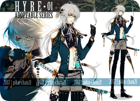 [ CLOSED ] HYRE ADOPTABLE SERIES 1 by Piku-chan21