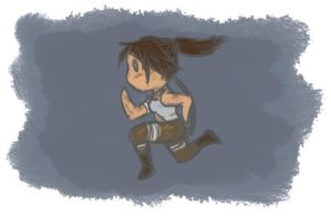 Run Lara Run! by RSDoidle